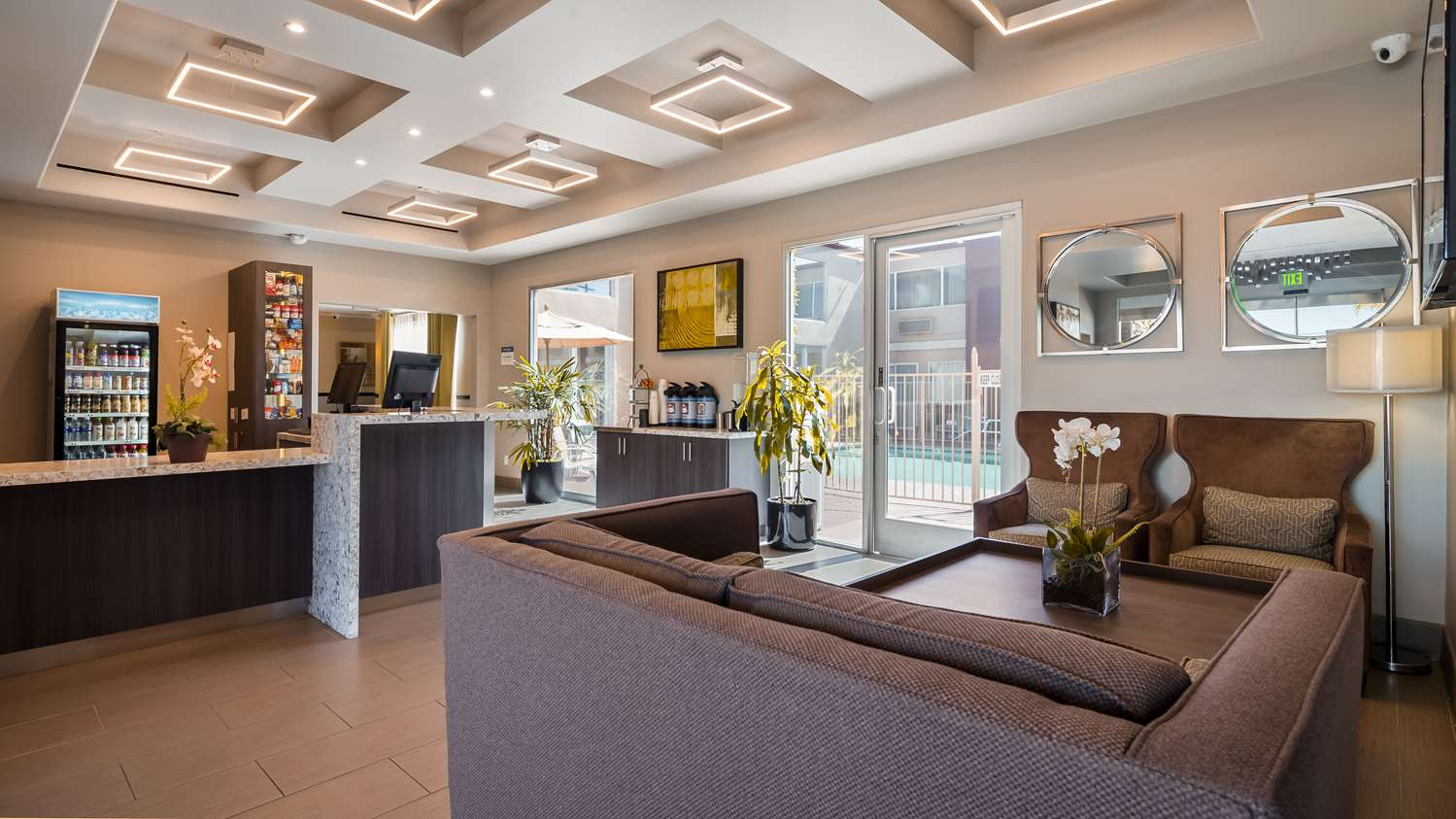 Photo of Best Western Canoga Park Lobby