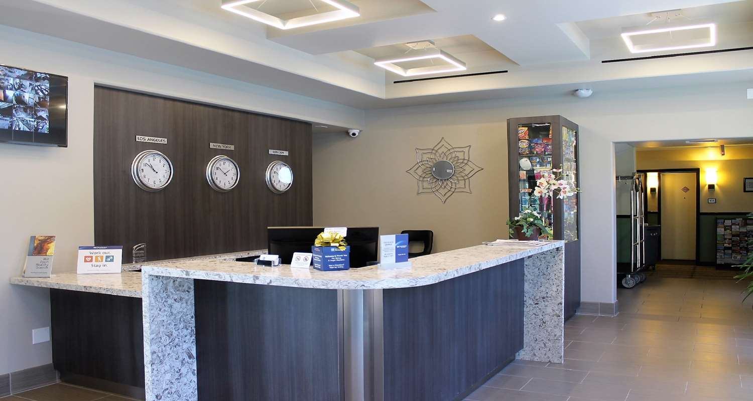 Photo of Best Western Canoga Park Reception desk