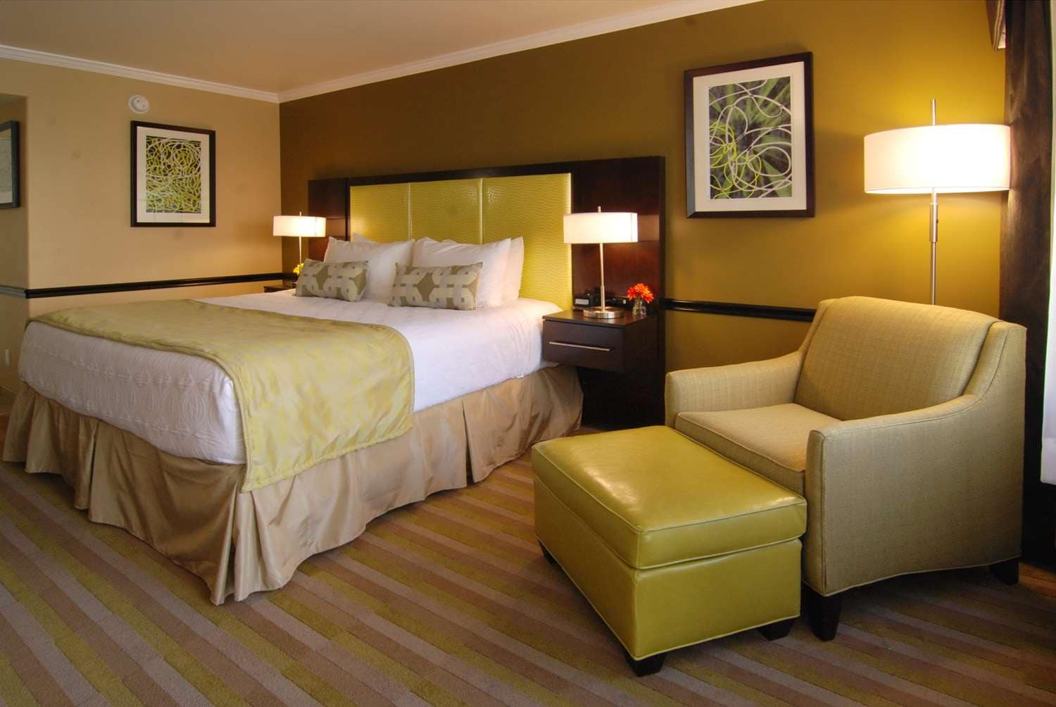Photo of Best Western Canoga Park King bed and chair