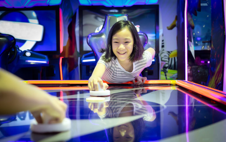 Photo Showing Kids playing and Games