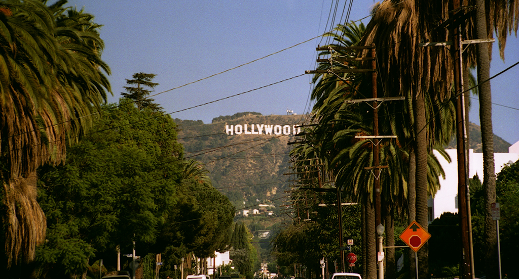 Image Of Hollywood Sign and hills