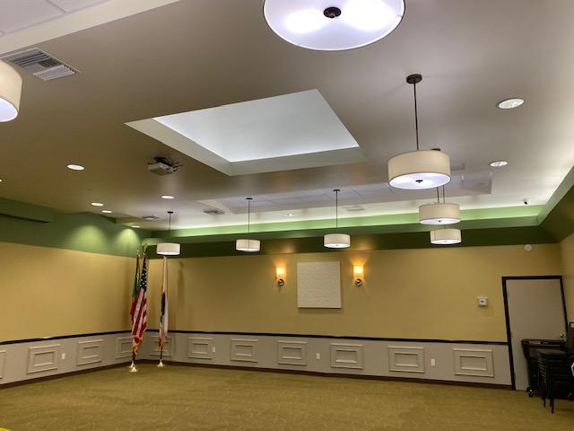 photo of spacious meeting room